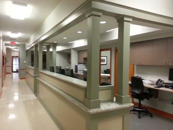O'Neal clinic processing area