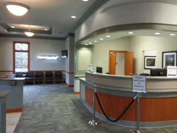 O'Neal clinic front desk