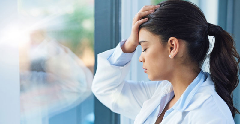 doctor dreaming of a new career opportunity